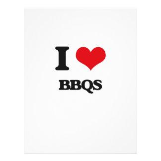 I Love Bbqs Custom Flyer