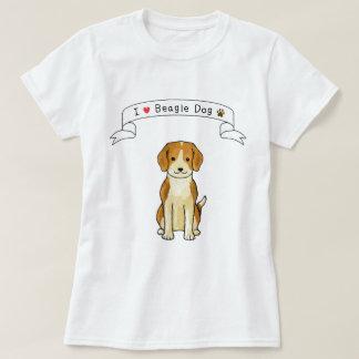 I Love Beagle Dog T-Shirt