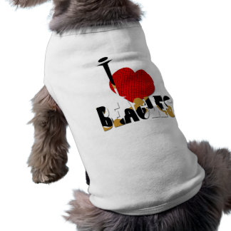 I Love Beagles Dog Tee Shirt