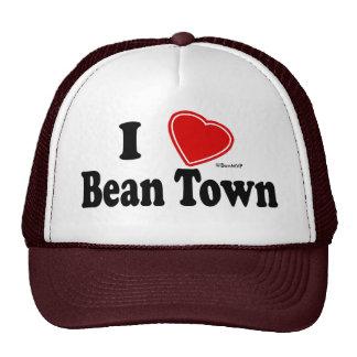 I Love Bean Town Trucker Hat
