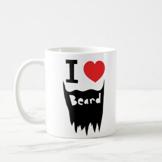 I love beard coffee mug