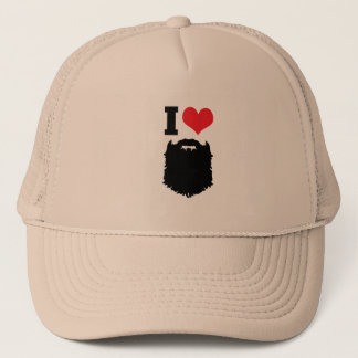 I Love Beards Trucker Hat