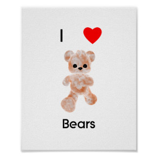 I love bears print