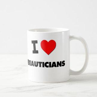 I Love Beauticians Coffee Mug