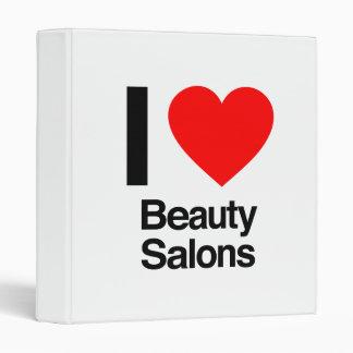 i love beauty salons binders