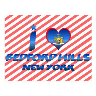 I love Bedford Hills, New York Postcard