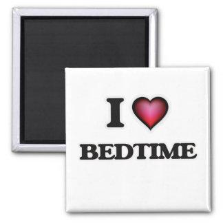 I Love Bedtime Square Magnet