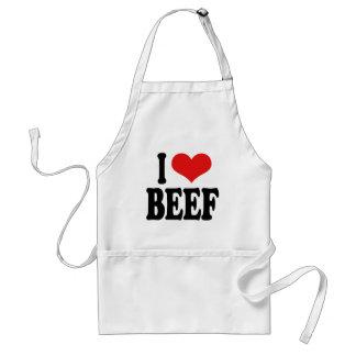 I Love Beef Standard Apron