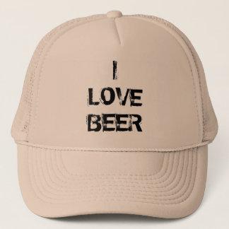 I LOVE BEER CUP HAT
