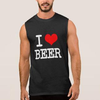 I Love Beer funny men's shirt tank top