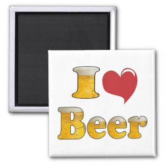 I Love Beer Magnet
