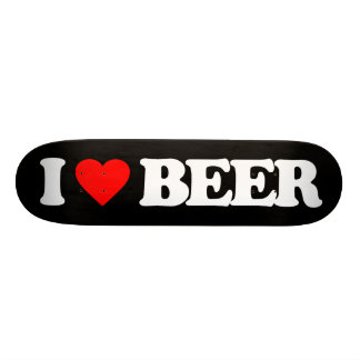 I LOVE BEER SKATE BOARD DECKS