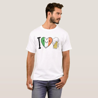 I Love Beer - St. Patrick's Day T-Shirt