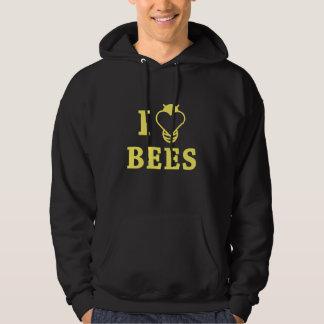 I Love Bees Hoodie