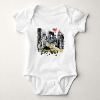 I love Beijing Baby Bodysuit