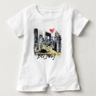 I love Beijing Baby Romper