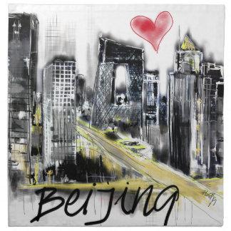 I love Beijing Napkin