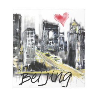 I love Beijing Notepad