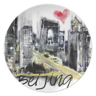 I love Beijing Plate