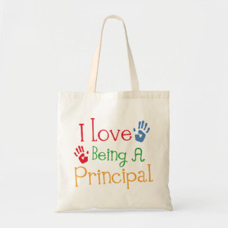 I Love Being A Principal Tote Bag