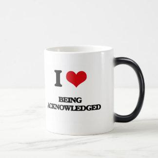 I Love Being Acknowledged Mug