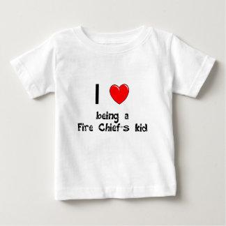I love being an Fire Chief's Kid T-Shirt
