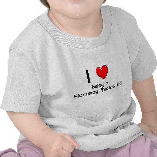 I love being an Pharmacy Tech's Kid T-Shirt