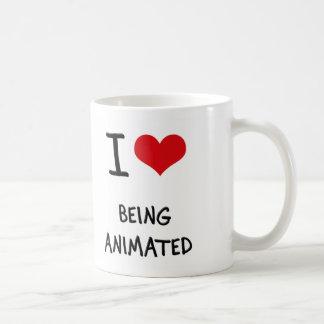 I Love Being Animated Mugs
