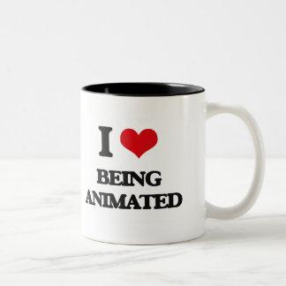 I Love Being Animated Mug