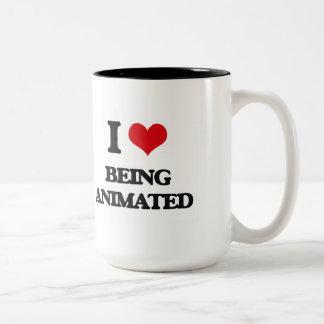 I Love Being Animated Coffee Mugs