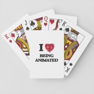 I Love Being Animated Card Deck