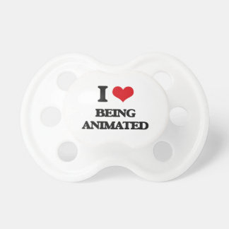 I Love Being Animated BooginHead Pacifier