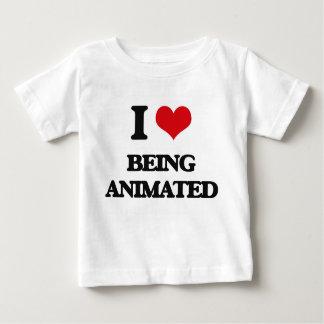 I Love Being Animated Tee Shirt