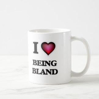 I Love Being Bland Coffee Mug