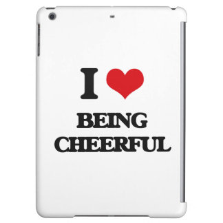 I love Being Cheerful iPad Air Cases