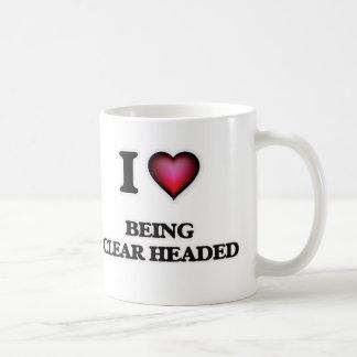 I love Being Clear-Headed Coffee Mug