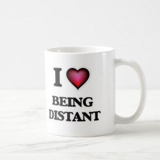 I Love Being Distant Coffee Mug