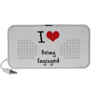 I love Being Engaged Mini Speakers