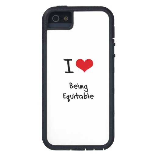 I love Being Equitable iPhone 5 Cases