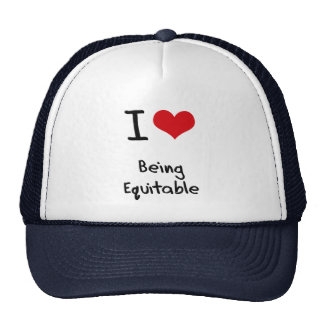I love Being Equitable Hats