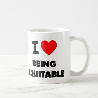 I love Being Equitable Coffee Mug