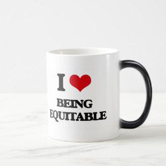 I love Being Equitable Coffee Mugs
