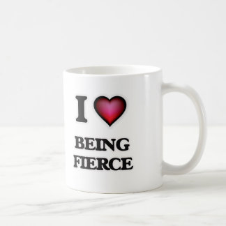 I Love Being Fierce Coffee Mug