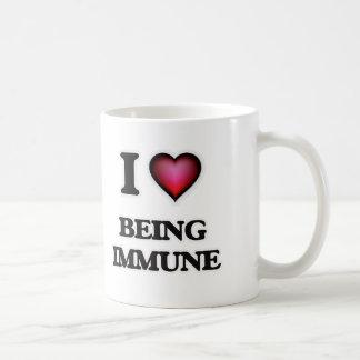I Love Being Immune Coffee Mug