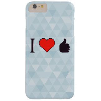 I Love Being Praised Barely There iPhone 6 Plus Case
