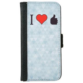 I Love Being Praised iPhone 6 Wallet Case