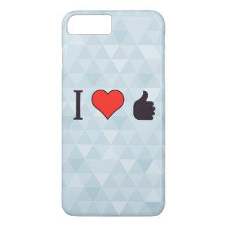I Love Being Praised iPhone 7 Plus Case