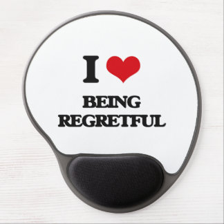 I Love Being Regretful Gel Mouse Pad
