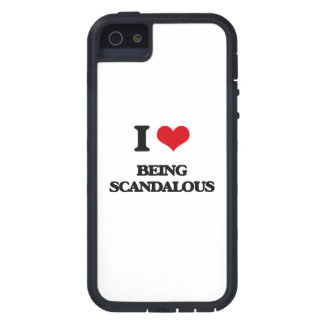 I Love Being Scandalous iPhone 5 Cases