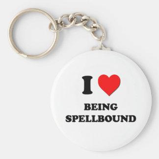 I love Being Spellbound Keychains